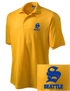 Our Lady of Mount Virgin Parish Seattle Embroidered Men's Jersey Polo