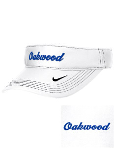 Oakwood Elementary School Eagles Embroidered Nike Golf Dri-Fit Swoosh Visor