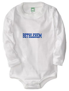 Our Lady of Pompeii Parish (1902) (Itali Bethlehem  Baby Long Sleeve 1-Piece with Shoulder Snaps