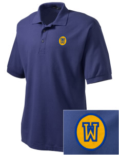 Our Lady of The Snows Parish Westwood Embroidered Men's Silk Touch Polo