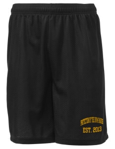 "Protection of The BVM Parish Willimantic Men's Mesh Shorts, 7-1/2"" Inseam"