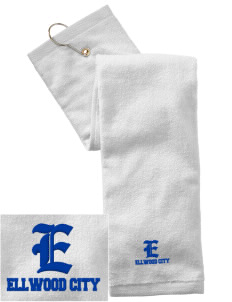Purification of the Blessed Virgin Mary  Ellwood City Embroidered Hand Towel with Grommet