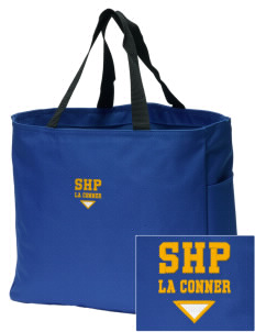 Sacred Heart Parish La Conner Embroidered Essential Tote