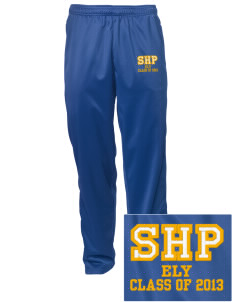 Sacred Heart Parish Ely Embroidered Men's Tricot Track Pants