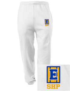 Sacred Heart Parish Ely Embroidered Men's Sweatpants with Pockets