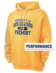 Santa Paula Parish Fremont Russell Men's Dri-Power Hooded Sweatshirt