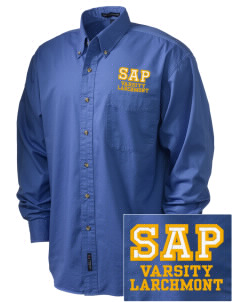 St Augustine Parish Larchmont Embroidered Men's Twill Shirt