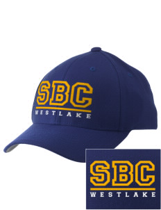 St Bernadette Church Westlake Embroidered Pro Model Fitted Cap
