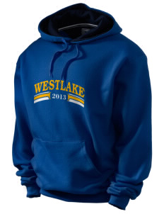 St Bernadette Church Westlake Champion Men's Hooded Sweatshirt