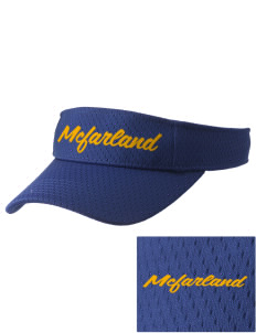 St Elizabeth Parish McFarland Embroidered Woven Cotton Visor
