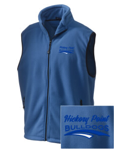 Hickory Point Elementary School Bulldogs Embroidered Unisex Wintercept Fleece Vest