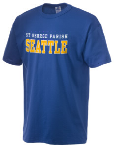 St George Parish Seattle  Russell Men's NuBlend T-Shirt