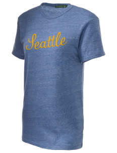 St George Parish Seattle Embroidered Alternative Unisex Eco Heather T-Shirt