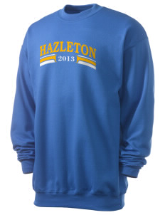 St Joseph Parish Hazleton Men's 7.8 oz Lightweight Crewneck Sweatshirt
