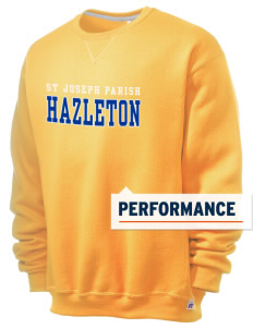 St Joseph Parish Hazleton  Russell Men's Dri-Power Crewneck Sweatshirt
