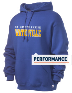 St Joseph Parish Waterville Russell Men's Dri-Power Hooded Sweatshirt