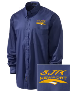 St Jude Parish (Usk) Newport Embroidered Men's Easy-Care Shirt