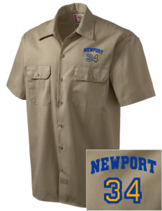 St Jude Parish (Usk) Newport Embroidered Dickies Men's Short-Sleeve Workshirt