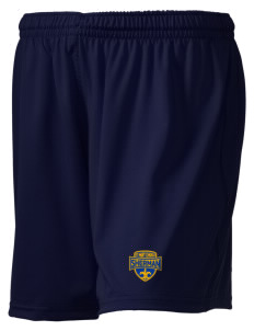 "St Mary Church Sherman Embroidered Holloway Women's Performance Shorts, 5"" Inseam"