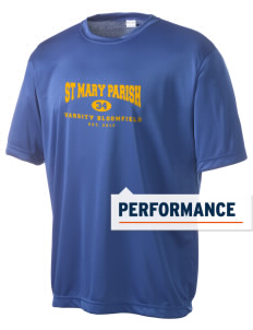 St Mary Parish Bloomfield Men's Competitor Performance T-Shirt