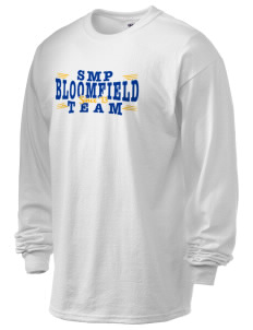 St Mary Parish Bloomfield 6.1 oz Ultra Cotton Long-Sleeve T-Shirt