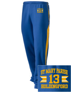 St Mary Parish Holdingford Embroidered Holloway Men's Pivot Warm Up Pants