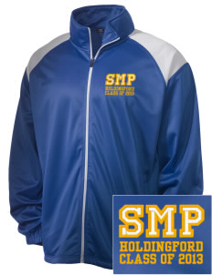 St Mary Parish Holdingford Embroidered Men's Tricot Track Jacket