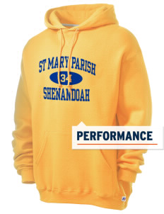 St Mary Parish Shenandoah Russell Men's Dri-Power Hooded Sweatshirt