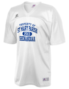 St Mary Parish Shenandoah  Russell Men's Replica Football Jersey
