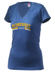 St Peter Parish Somerset Juniors' Fine Jersey V-Neck Longer Length T-shirt