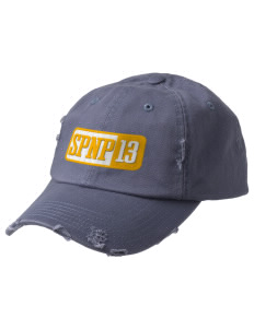 St Phillip Neri Parish Barstow Embroidered Distressed Cap