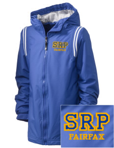 St Rita Parish Fairfax Embroidered Holloway Kid's Titan Hooded Jacket