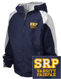 St Rita Parish Fairfax Embroidered Holloway Kids Homefield Zip Front Jacket