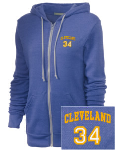 St Rose Parish Cleveland Embroidered Alternative Unisex The Rocky Eco-Fleece Hooded Sweatshirt