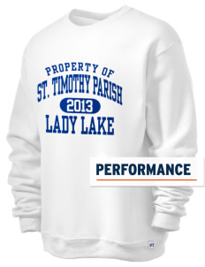 St. Timothy Parish School Lady Lake  Russell Men's Dri-Power Crewneck Sweatshirt