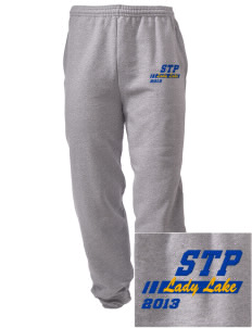 St. Timothy Parish School Lady Lake Embroidered Men's Sweatpants with Pockets