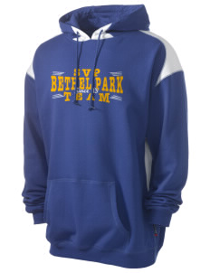 St Valentine Parish Bethel Park Men's Pullover Hooded Sweatshirt with Contrast Color