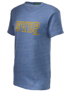 St Vincent De Paul Parish Leeds Embroidered Alternative Unisex Eco Heather T-Shirt