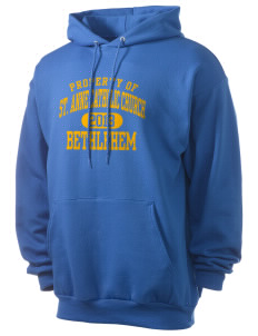 St. Anne Catholic Church Bethlehem Men's 7.8 oz Lightweight Hooded Sweatshirt
