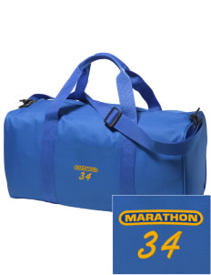 St. Stehpen's Church Marathon Embroidered Holloway Duffel Bag