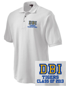 Don Bosco Technical Institute Tigers Embroidered Tall Men's Pique Polo