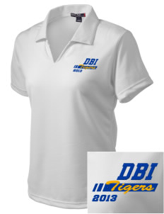 Don Bosco Technical Institute Tigers Embroidered Women's Dri Mesh Polo