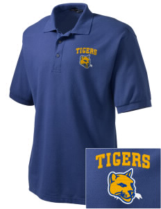 Don Bosco Technical Institute Tigers Embroidered Tall Men's Silk Touch Polo