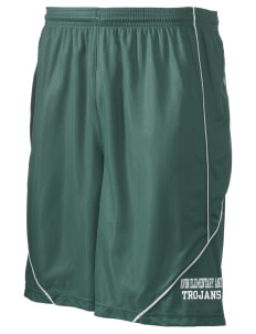"Avon Elementary And Middle School Trojans Men's Pocicharge Mesh Reversible Short, 9"" Inseam"