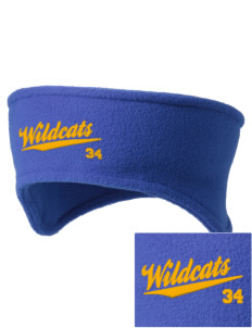 State University of New York Utica Wildcats Embroidered Fleece Headband