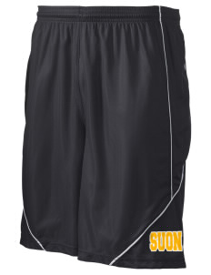"State University of New York Utica Wildcats Men's Pocicharge Mesh Reversible Short, 9"" Inseam"