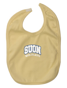 State University of New York Utica Wildcats Baby Interlock Bib
