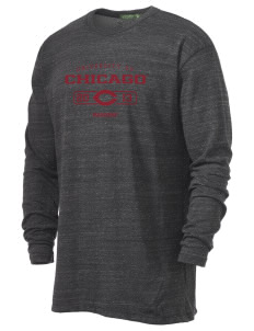 The University of Chicago Maroons Alternative Men's 4.4 oz. Long-Sleeve T-Shirt