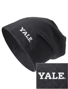 Yale University Bulldogs Embroidered Slouch Beanie