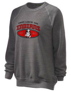 Schneider Elementary School Indians Unisex Alternative Eco-Fleece Raglan Sweatshirt